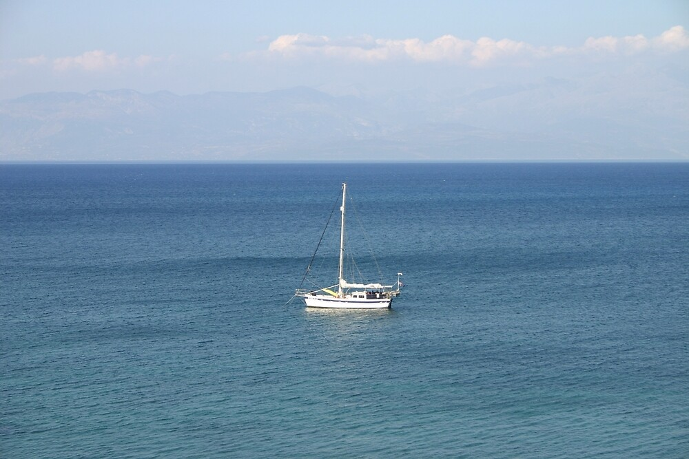 Sailing Away by photozoom