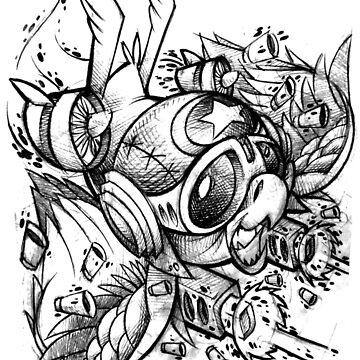 War Bird Doodle by JeremyHarburn