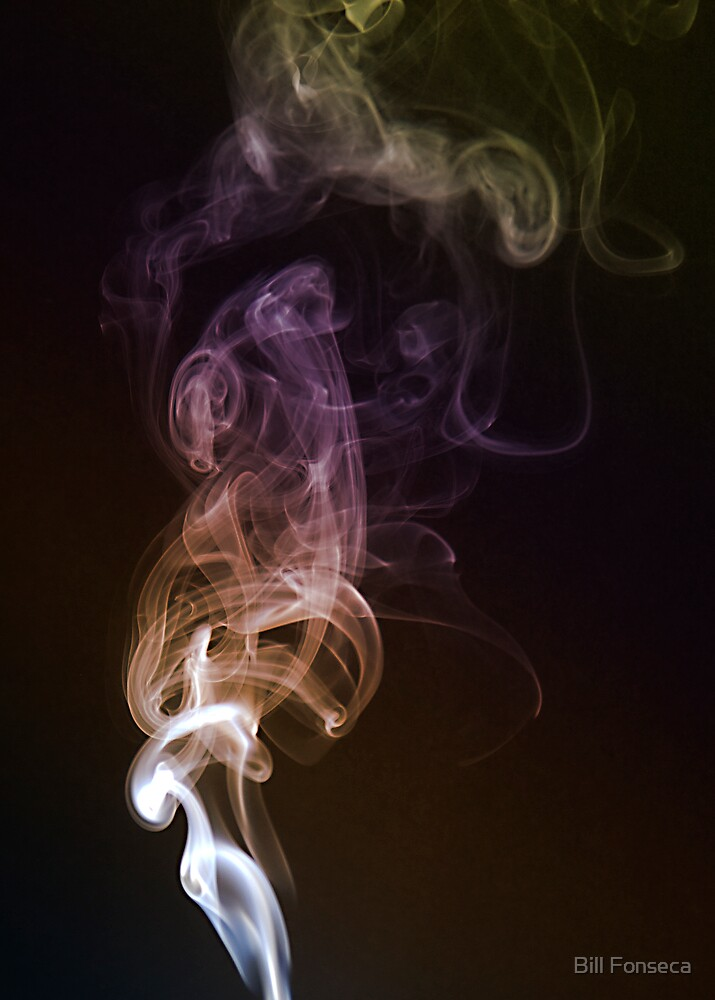 Coloured Smoke by Bill Fonseca