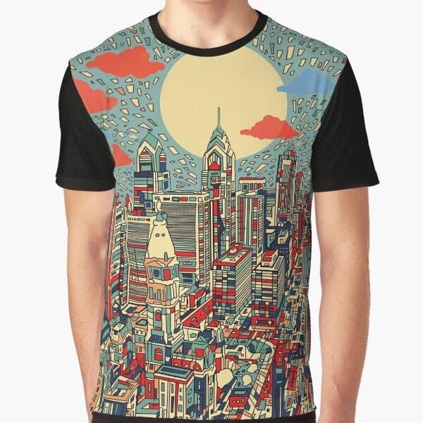 philadelphia panorama 3 Graphic T-Shirt
