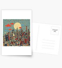 philadelphia panorama 3 Postcards