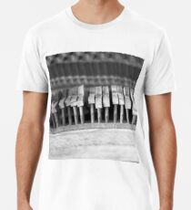 Uneven keys Men's Premium T-Shirt