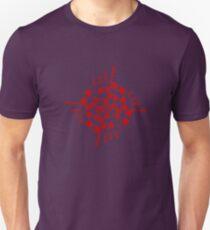 Mandala 1 Colour Me Red Unisex T-Shirt
