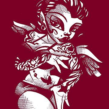 Tattooed Angel by JeremyHarburn