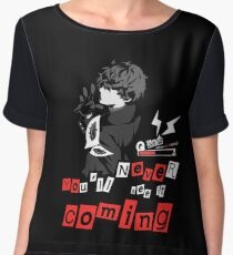 Never see it Coming - Persona 5 Women's Chiffon Top