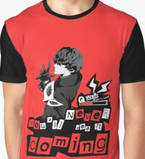 Never see it Coming - Persona 5 Graphic T-Shirt