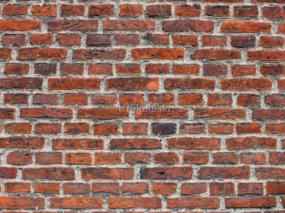 Old Brick Wall Texture by Krukowski