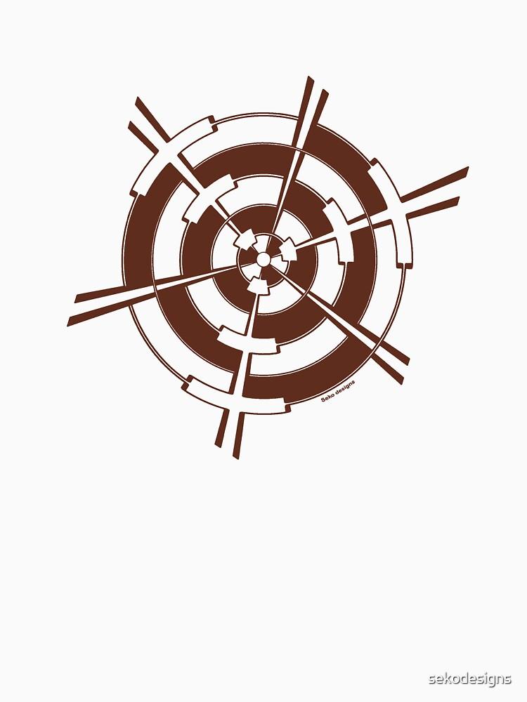 Mandala 3 Chocol'Art  by sekodesigns