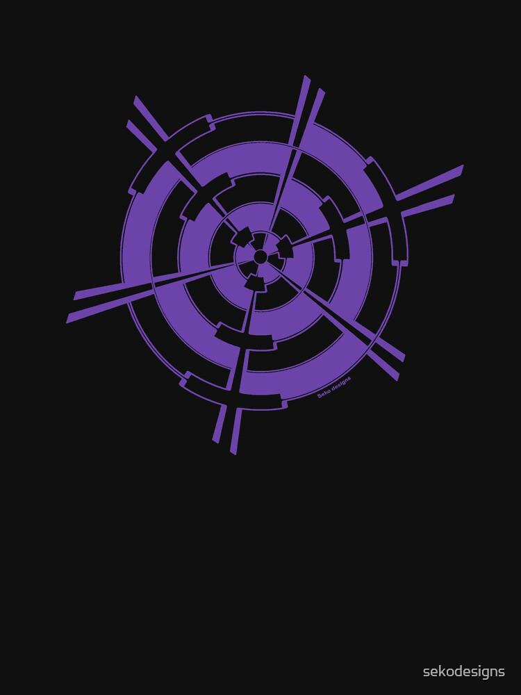 Mandala 3 Purple Haze  by sekodesigns