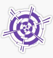 Mandala 3 Purple Haze  Sticker