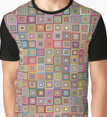 Little colored Squares Graphic Design  Graphic T-Shirt