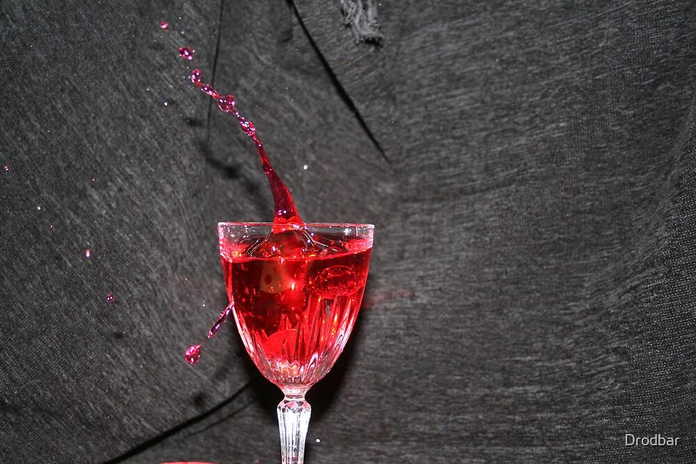 Wine Splash by Drodbar