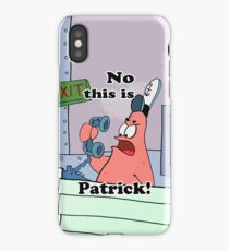This is Patrick iPhone Case