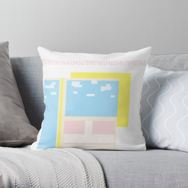 SSIDE SUBWAY Throw Pillow
