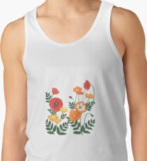 Red, yellow, and orange floral pattern no.3 Tank Top