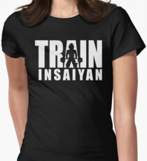 TRAIN INSAIYAN - Deadlift ICONIC Womens Fitted T-Shirt