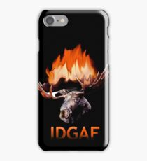 That Moose Fire iPhone Case/Skin