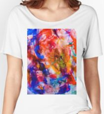 Watercolours on Yorkshire Moors Women's Relaxed Fit T-Shirt
