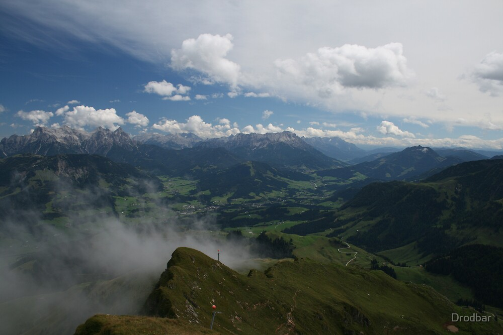 Austrian Mountains by Drodbar