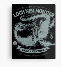 Lochness Monster - Cryptids Club Case file #200 Metal Print