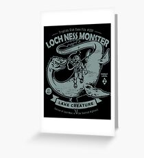 Lochness Monster - Cryptids Club Case file #200 Greeting Card