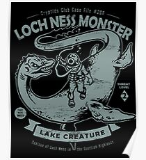 Lochness Monster - Cryptids Club Case file #200 Poster