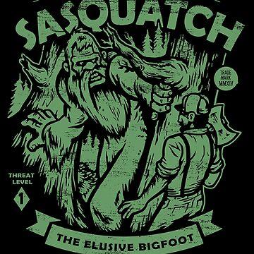 Sasquatch - Crypts Club Fall-Datei # 077 von HeartattackJack