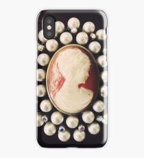 Classic Vintage Cameo iPhone Case/Skin