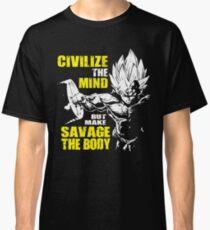 Make Savage The Body - Vegeta Squat - Leg Day Classic T-Shirt