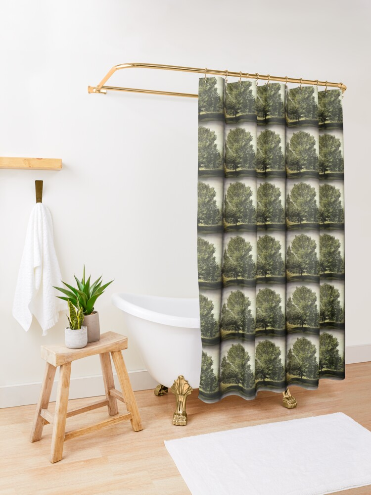 Alternate view of Nature Lovers Gift - Perfect Tree  Shower Curtain
