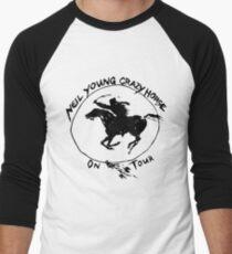 Camiseta ¾ estilo béisbol TOUR NEIL YOUNG CRAZY HORSE TELUR