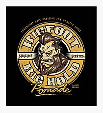 Big Foot Pomade Photographic Print