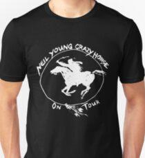 TOUR NEIL YOUNG CRAZY HORSE TELUR BLACK Unisex T-Shirt
