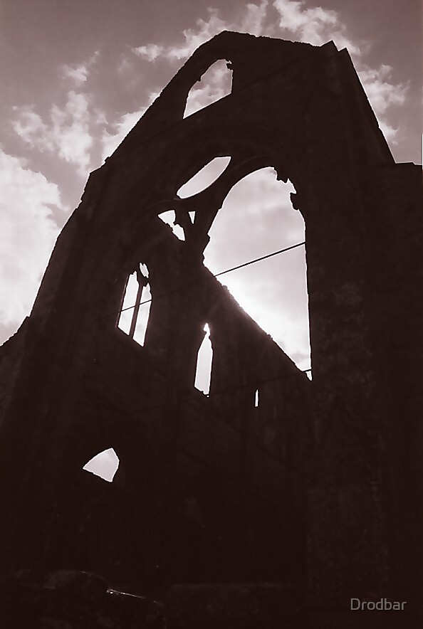 Monmouth abbey by Drodbar
