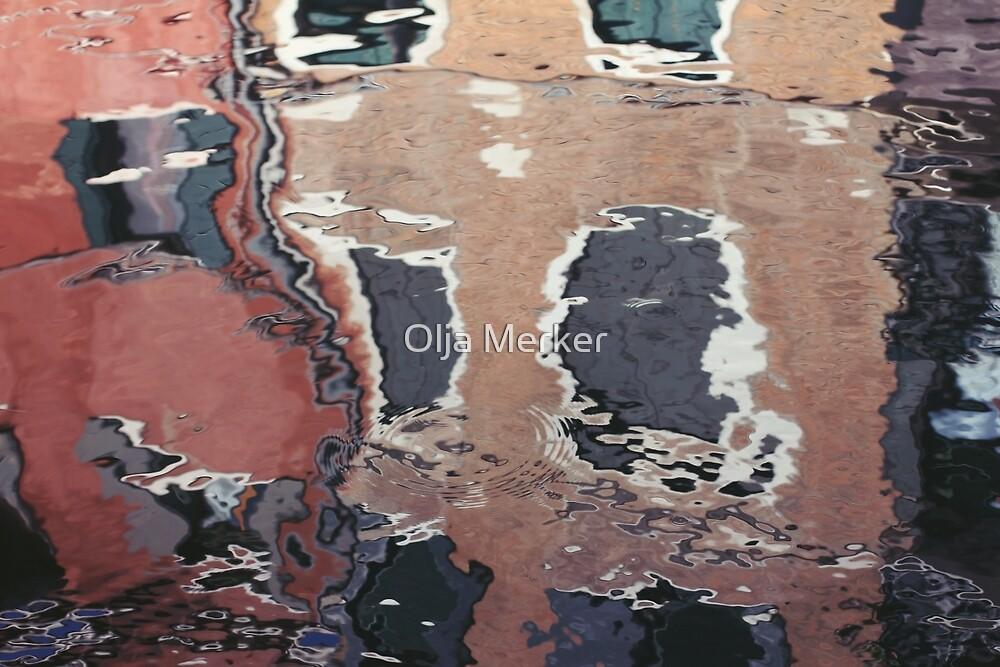 Reflections of Venice by Olja Merker