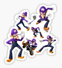 WAAAAA-WAAAA-WALUIGI Sticker
