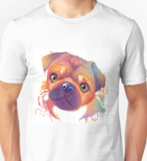 Rainbow series: Pug T-Shirt