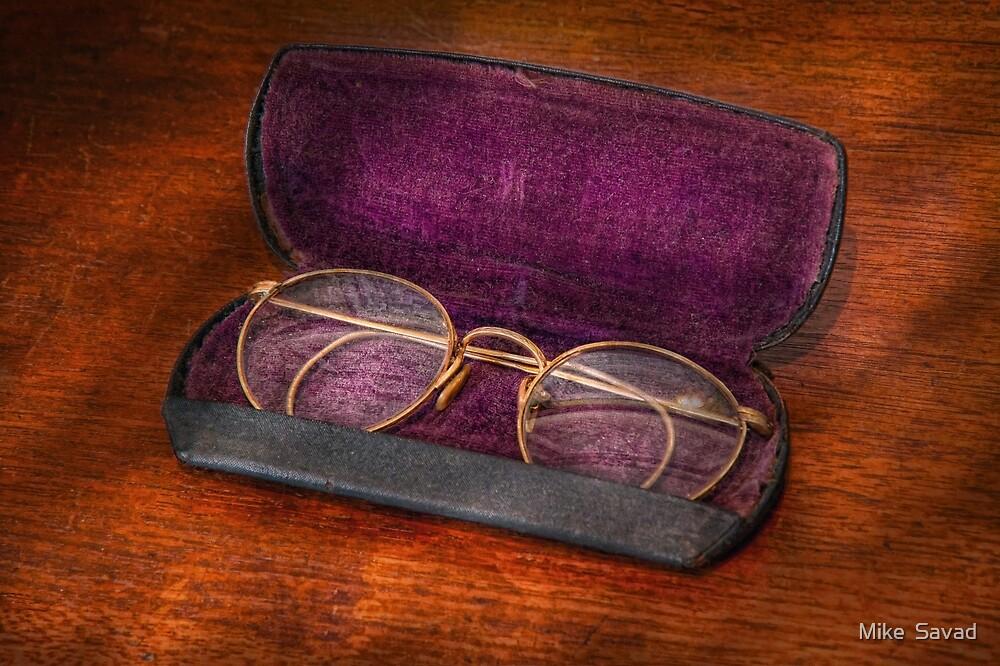Optometry - Has anyone seen my glasses  by Michael Savad