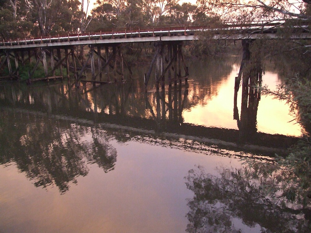 The Crossing Place Bridge by naomib