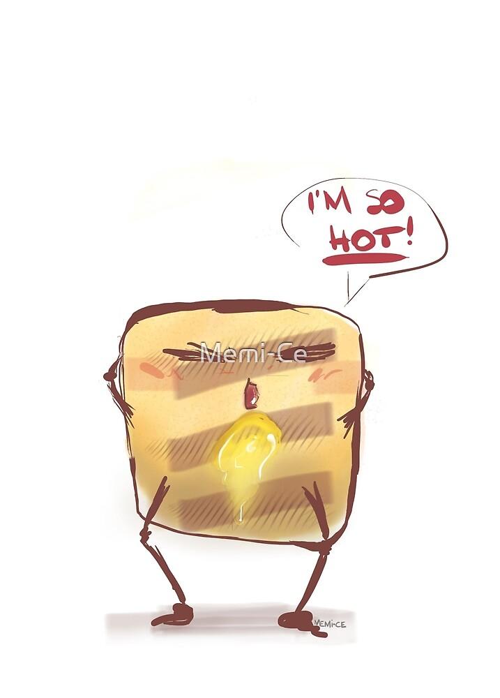 Mr. Toast sexy by Memi-Ce