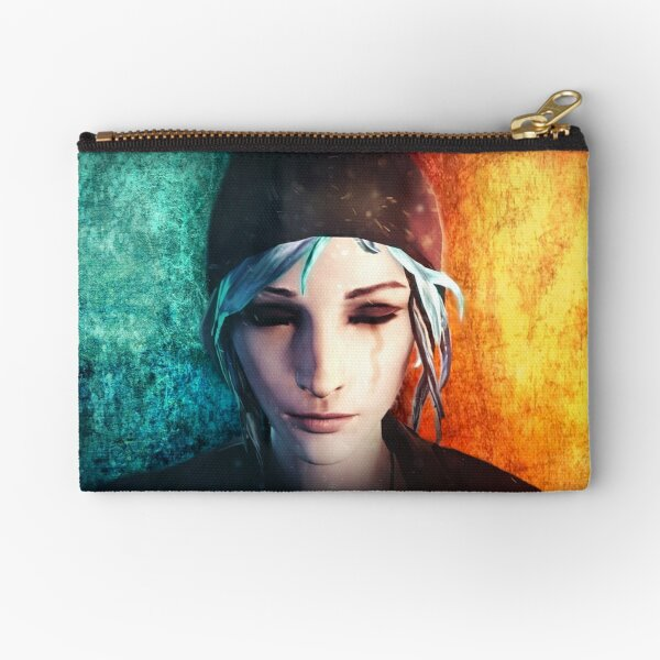 Chloe between Death and Life (is Strange) Zipper Pouch