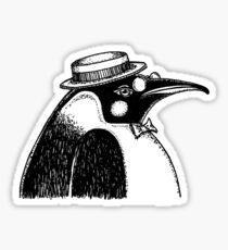 Fancy Penguin Sticker
