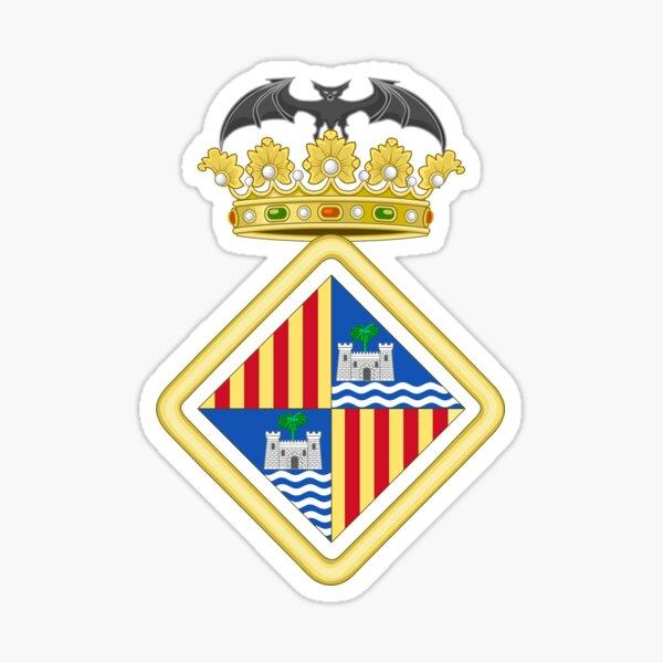 Coat of Arms of Palma de Mallorca, Spain Sticker