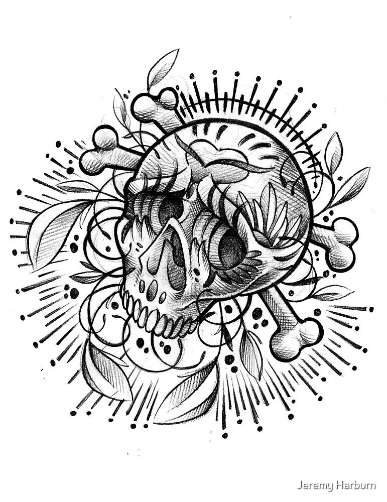 Sugar Skull by Jeremy Harburn