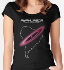 Ayahuasca -- Outside Looking Farther Out Women's Fitted Scoop T-Shirt