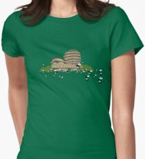 guggen hives Womens Fitted T-Shirt