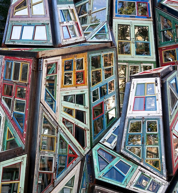 Abstract Windows by Ludwig Wagner