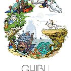 Ghibli Tribute by millushka