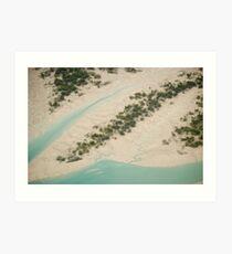 Mud Lagoon Art Print