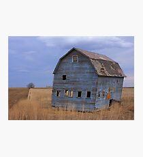 Blue Barn Photographic Print